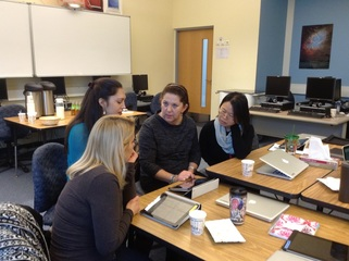 Teachers Collaborating